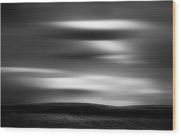 Wood Print featuring the photograph Dreaming Clouds by Dan Jurak