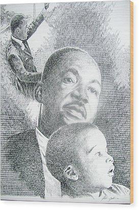dreaming II Wood Print by Otis  Cobb