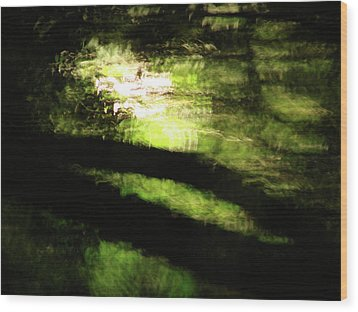 Dreaming Monet Wood Print by Mark Holbrook