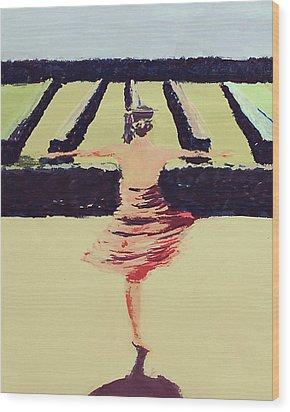 Dreams Of A Dancer Wood Print