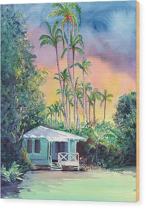 Dreams Of Kauai Wood Print