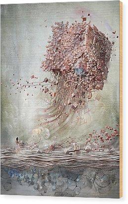 Dreamscape Flow No.1 Wood Print