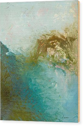 Wood Print featuring the painting Dreamstime 3 by Irene Hurdle
