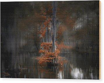 Dreamy Autumn Wood Print