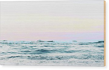 Dreamy Ocean Wood Print