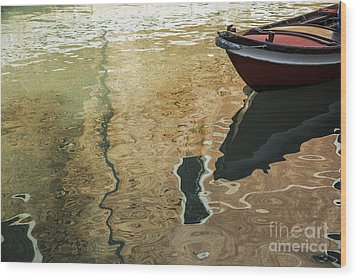 Wood Print featuring the photograph Dreamy Waters by Yuri Santin