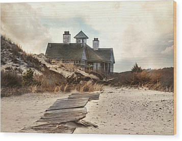 Wood Print featuring the photograph Driftwood by Robin-Lee Vieira