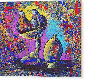 Dripx 79 Wood Print