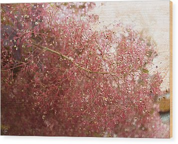 Wood Print featuring the digital art Droplets by Margaret Hormann Bfa