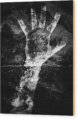 Drowning Wood Print by Venura Herath