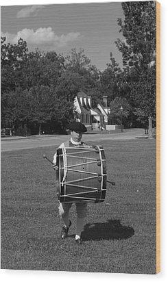 Drummer Boy Wood Print by Eric Liller