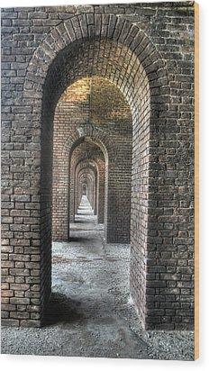 Dry Tortugas - Fort Jefferson - Doorways Wood Print