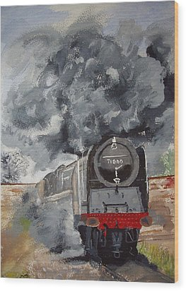 Duke Of Gloucester Wood Print