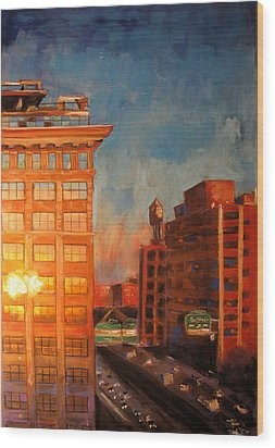 Dumbo1 Wood Print by Thomas Daseler