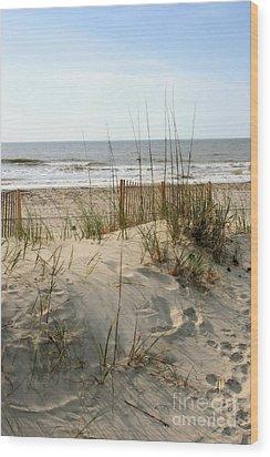 Dune Wood Print by Angela Rath
