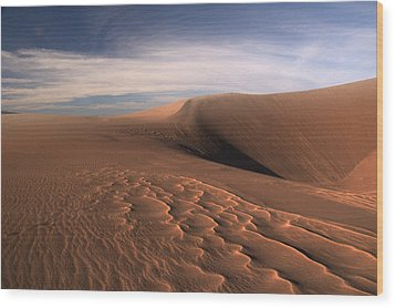 Wood Print featuring the photograph Dune Pleasures by Al Swasey