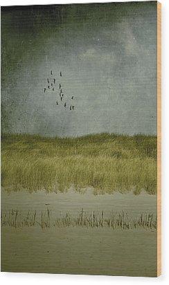 Dunes Wood Print by Joana Kruse