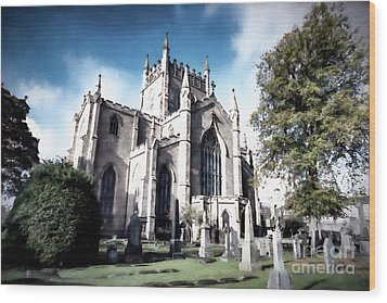 Wood Print featuring the photograph Dunfermline by Anthony Baatz