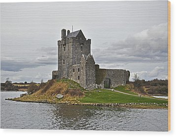 Dunguaire Castle Wood Print by Martina Fagan