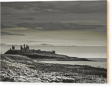 Dunstanburgh Wood Print