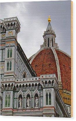 Duomo Wood Print by Lynn Andrews