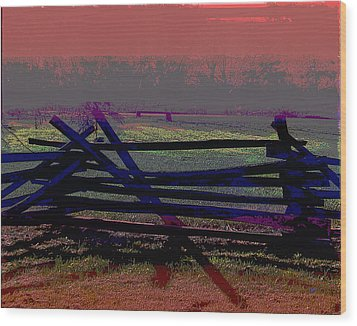 Dusk Wood Print by Gerlinde Keating - Galleria GK Keating Associates Inc