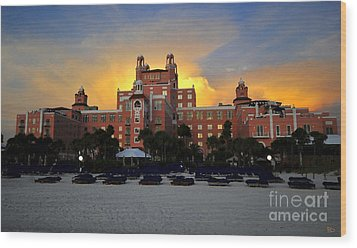 Dusk Over Don Wood Print by David Lee Thompson
