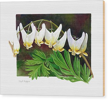 Wood Print featuring the painting Dutchman by Margit Sampogna