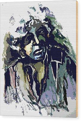 Dylan Wood Print by Mindy Newman