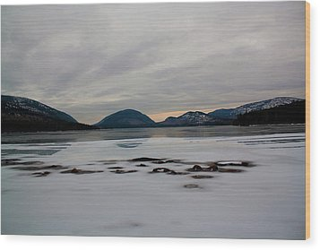 Wood Print featuring the photograph Eagle Lake Sunset I by Greg DeBeck