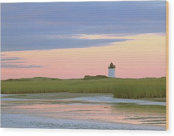 Early Light At Wood End Light Wood Print by Roupen  Baker