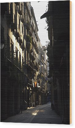 Early Light Wood Print
