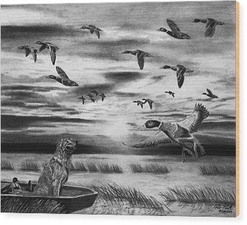 Early Morning Wood Print by Peter Piatt