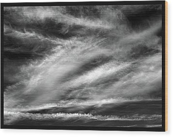Wood Print featuring the photograph Early Morning Sky. by Terence Davis