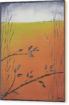Early Spring  Wood Print by Carolyn Doe