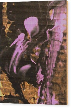 Earth Angel Wood Print by Bruce Combs - REACH BEYOND