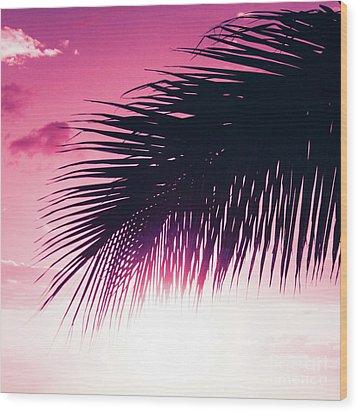 Wood Print featuring the photograph Earth Heart Kahakai by Sharon Mau