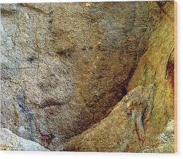Wood Print featuring the photograph Earth Memories - Stone # 5 by Ed Hall