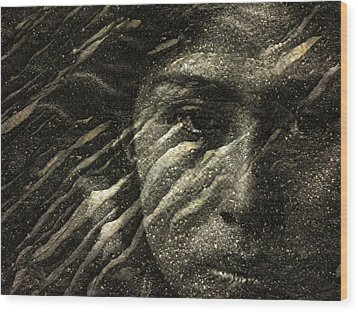 Wood Print featuring the photograph Earth Memories - Water Spirit by Ed Hall