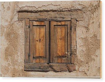 Earthen Wood Print