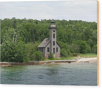 East Channel Lighthouse Wood Print