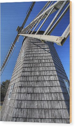 East Hampton Windmill Wood Print