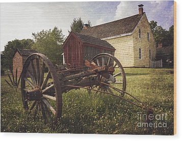 East Jersey Olde Town Wood Print