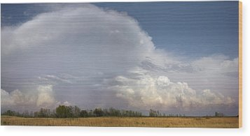 Wood Print featuring the photograph East Of El Dorado by Rod Seel