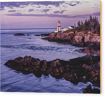 East Quoddy Head, Canada Wood Print
