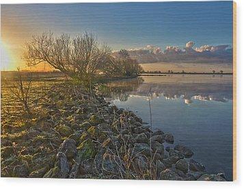Easter Sunrise Wood Print