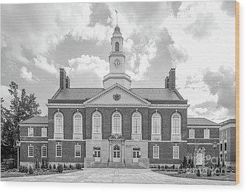 Eastern Kentucky University Keen Johnson Building Wood Print by University Icons