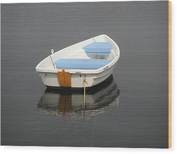 Easy Street Boat Basin Nantucket Ma Wood Print