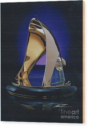 Eaton Quality Award Sculpture  Wood Print