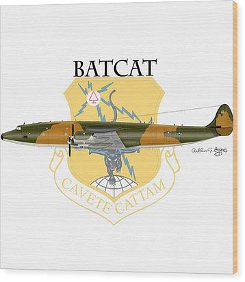 Ec-121r Batcatcavete Wood Print